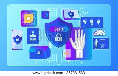 Smart Rfid Security System For Everyone Advertisement. Radio Frequency Identification Nano Chip In H