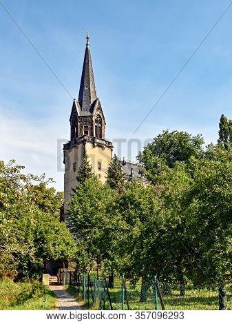 Peace Church In Radebeul In Saxony / Germany