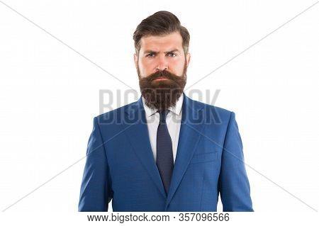 Handsome Young Businessman. Business Suits For Men. Male Fashion Model Posing. Handsome Brunette Mod