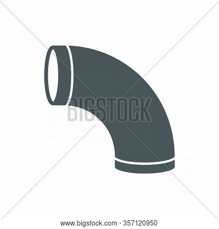 Air Duct Pipe Icon For Hvac System.