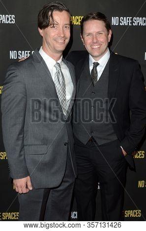 LOS ANGELES - NOV 11:  Nathan Baker, Justin Marchart at the