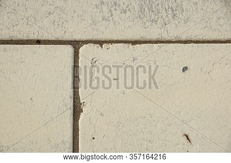 Aged Grey Beton Cement Texture. Abstract Background. Old Wall