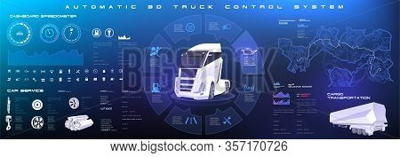 Diagnostics Of The State Of The Truck Chassis And The Entire Electronic Control System. Analysis And