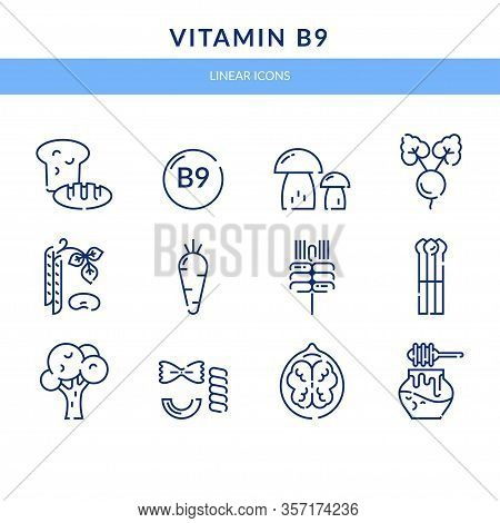 Vitamin B9, Which Is Found In Foods.