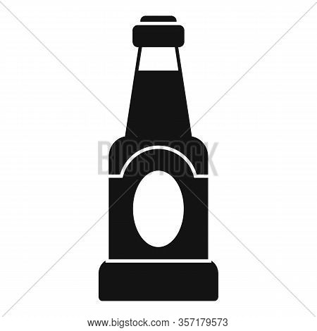 Condiment Bottle Icon. Simple Illustration Of Condiment Bottle Vector Icon For Web Design Isolated O