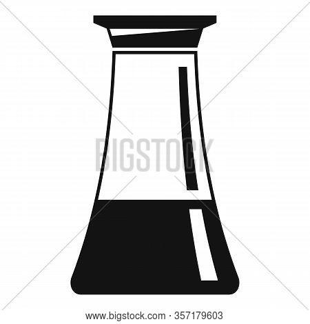 Vinegar Pot Icon. Simple Illustration Of Vinegar Pot Vector Icon For Web Design Isolated On White Ba