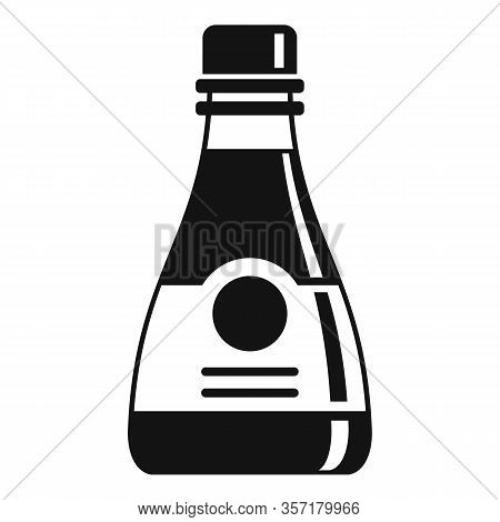 Aromatic Soy Bottle Icon. Simple Illustration Of Aromatic Soy Bottle Vector Icon For Web Design Isol
