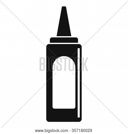 Tasty Ketchup Bottle Icon. Simple Illustration Of Tasty Ketchup Bottle Vector Icon For Web Design Is