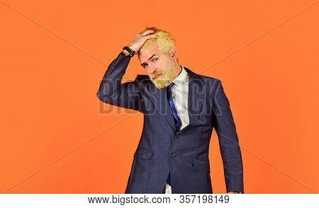 Office Worker. Businessman Lifestyle. Business Reputation. Formal Fashion. Handsome Businessman. Ser