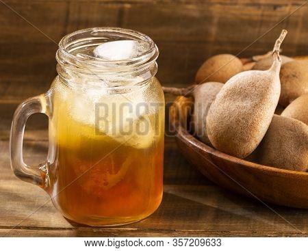 Cold Drink Of Tamarind - Tamarindus Indica