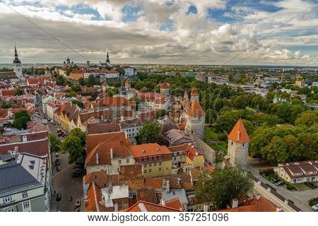 The Attractions Of The Beautiful Medieval Town Of Tallinn