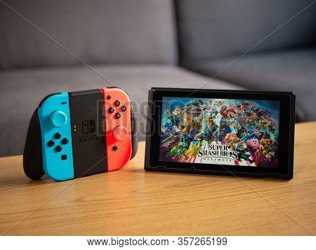 Uk, March 2020: Nintendo Switch Super Smash Bros Game