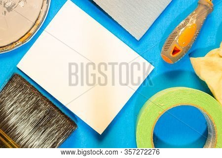 Diy Flatlay Home Improvement Diy Flatlay - Paint Tools