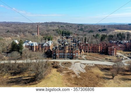 Hudson River State Hospital - Poughkeepsie, Ny