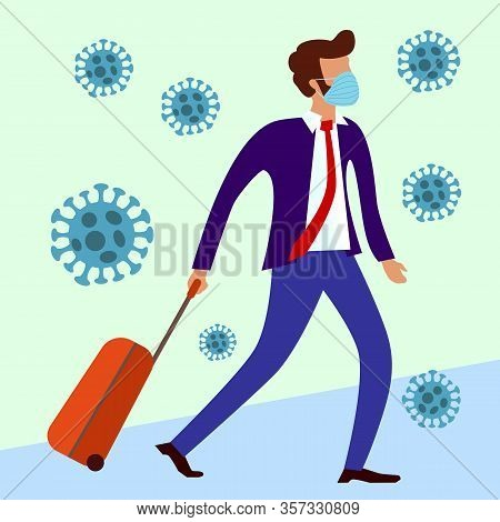 Mers-cov Middle East Respiratory Syndrome Coronavirus , Novel Coronavirus 2019-ncov , Man In Suit Wi