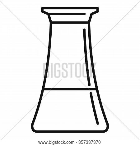 Vinegar Pot Icon. Outline Vinegar Pot Vector Icon For Web Design Isolated On White Background