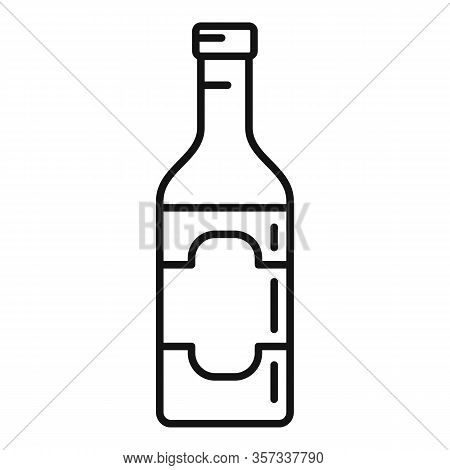 Culinary Condiment Bottle Icon. Outline Culinary Condiment Bottle Vector Icon For Web Design Isolate