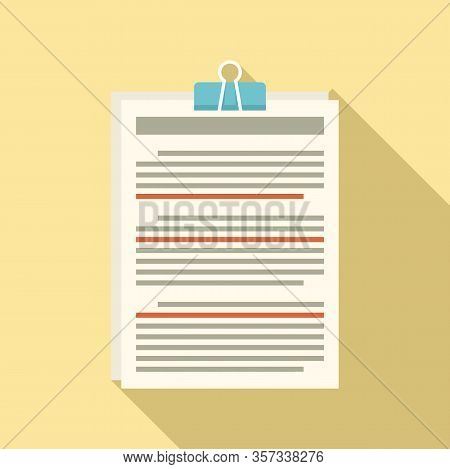 Editor Create Icon. Flat Illustration Of Editor Create Vector Icon For Web Design