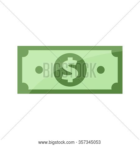 Banknote For Clip Art, Banknotes Money Isolated On White, Banknote Money Icon, Bank Note For Symbol