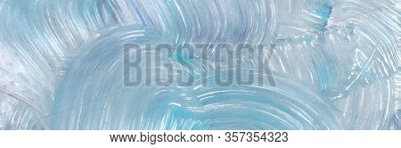 Abstract color acrylic and watercolor painting. Monotyping template. Canvas vintage grunge texture horizontal background.