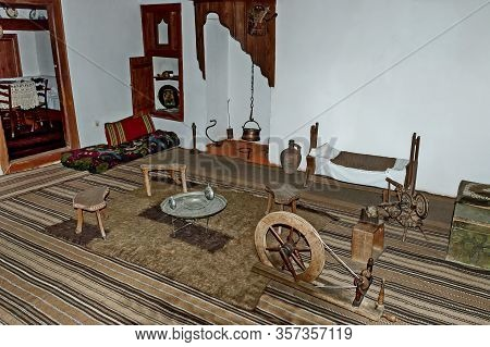 Panagyurishte, Bulgaria - September 07, 2011: Nice View Of An Old Traditional Bulgarian House With A