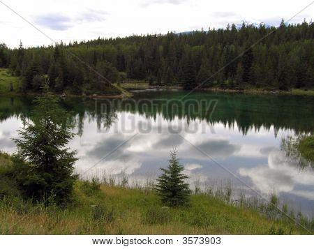Reflections On A Glacial Lake