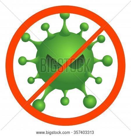Corona Virus 2020. Corona Virus In Wuhan, China, Global Spread, And Concept Of Icon Of Stopping Coro