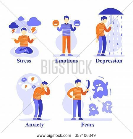 Man With Mental Problems, Psychological Situations, Psychology Help, Emotional Development, Counsell