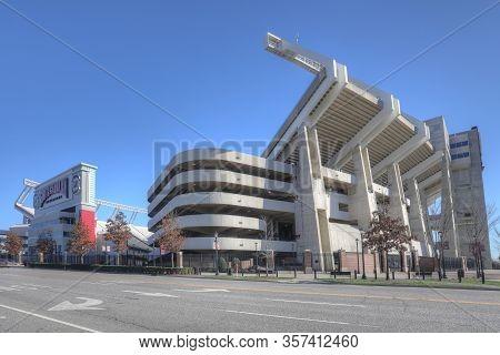 Columbia, South Carolina/united States- January 7: William Brice Stadium In Columbia, South Carolina