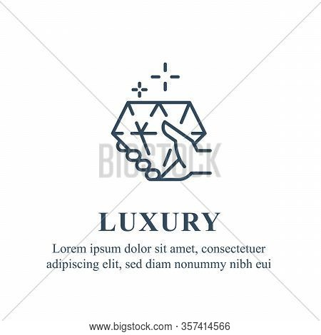 Luxury Concept, Premium Service, Vip Status, High Quality Guarantee, Excellence Award, Exclusive Off