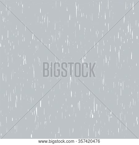 Subtle Rough Background, Grunge Scratched Pattern, Worn Surface Grey Backdrop