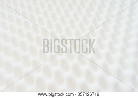 White Gradient Abstract Background Many Waves Different Angles. Extremely Soft Focus Blur Foreground