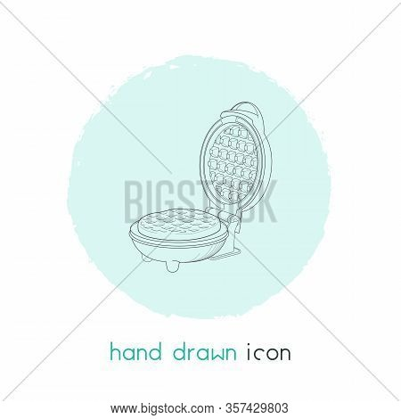 Kitchenware Icon Line Element. Vector Illustration Of Kitchenware Icon Line Isolated On Clean Backgr
