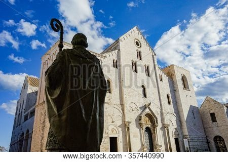 St. Nicola Basilica Church. Bari. Puglia. Italy.