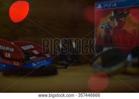 Rdr2 Ps4 Disc In Beautiful Setup
