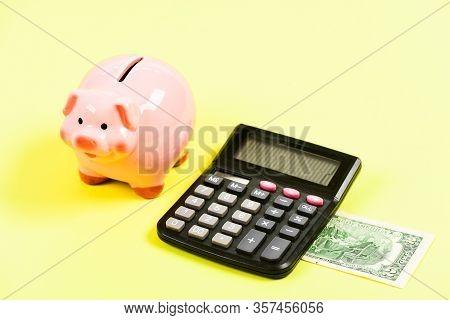 Economics And Profit Management. Economics And Finance. Piggy Bank Money Savings. Piggy Bank Pink Pi