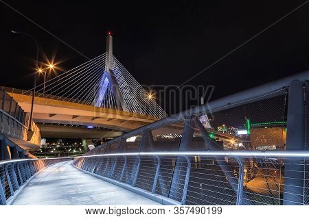 Leonard P. Zakim Bunker Hill Memorial Bridge, Boston, Massachusetts