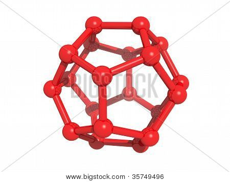 Isolated C20 Cage Fullerene