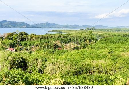 View Of Ocean & Ko Yao Yai Island From Viewpoint On Ko Yao Noi Island In Phang-nga Bay Near Phuket I