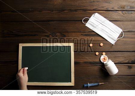The A Chalk Board Green School Study Coronavirus