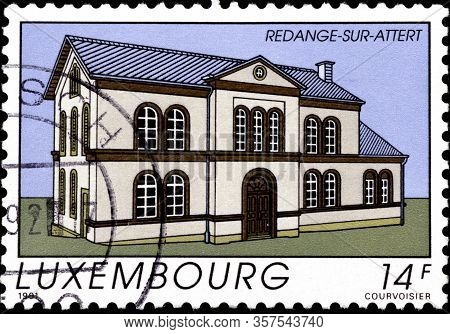 02.11.2020 Divnoe Stavropol Territory Russia Postage Stamp Luxembourg 1991 Tourism Redange-sur-atter