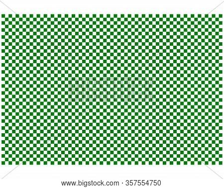Detailed And Accurate Illustration Of Checkerboard Pattern As Background