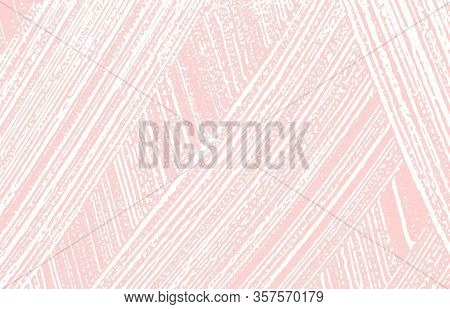 Grunge Texture. Distress Pink Rough Trace. Grand Background. Noise Dirty Grunge Texture. Posh Artist