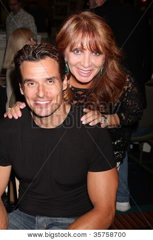 LOS ANGELES - AUG 4:  Antonio Sabato Jr, mother appearing at the