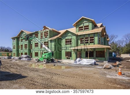 New Housing Construction As Either Condominiums Or Apartments