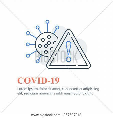 Covid-19 Or Coronavirus, Virus Outbreak Precautions, Preventive Measures, Safety Instructions, Pande