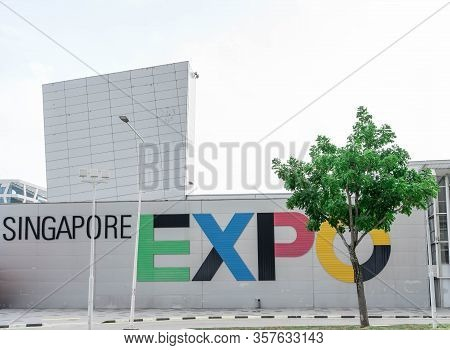 Singapore Expo Largest Convention And Exchibition Venue, Changi Expo, Singapore, 26 March 2020