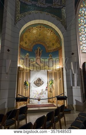 Jerusalem, Israel - January 30, 2020: Church Of Saint Peter In Gallicantu Is A Roman Catholic Church