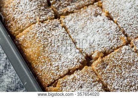 Homemade Sweet Applesauce Cake
