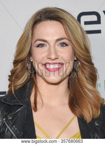 LOS ANGELES - MAR 02:  Katie Michels Katie Michels arrives for FX's Limited Series 'Devs' Los Angeles Premiere on March 02, 2020 in Hollywood, CA